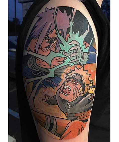 sasuke tattoo vs sasuke by chris mesi at relic in horsham