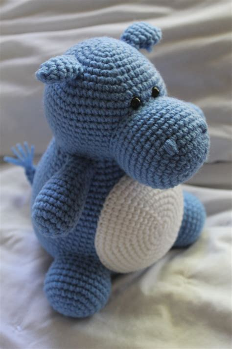 Crochet Pattern Only | hilda the hippo crochet amigurumi pattern only pdf 3
