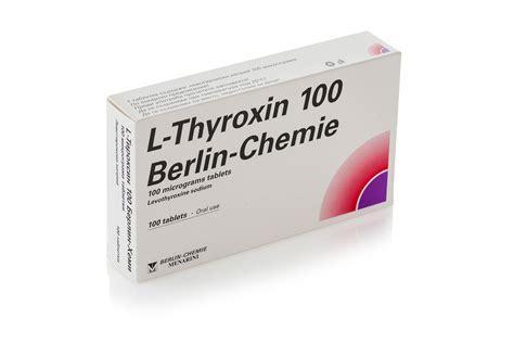 T4 L t4 l thyroxine 100 tabs 0 1 mg clenbuterol