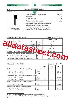 2n3906 transistor datasheet pdf 2n3906 datasheet pdf diotec semiconductor