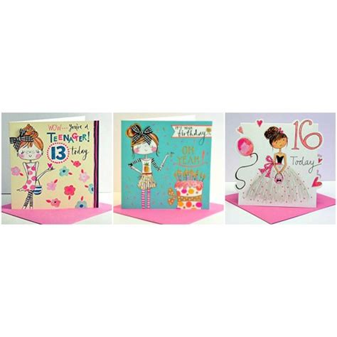 Gift Cards For A Teenage Girl - teenage girl birthday card