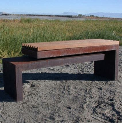cantilever bench cantilever bench contemporary outdoor benches other