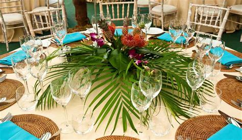 tropical theme decor tropical table decorations pictures and images of