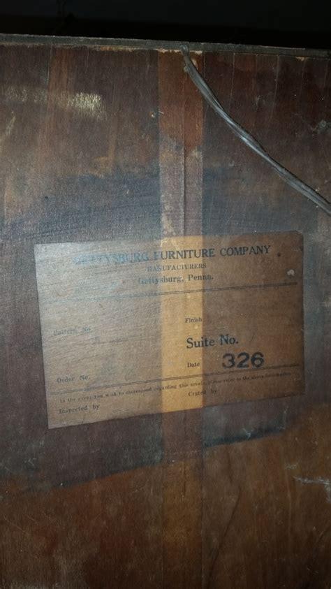 gettysburg furniture company china cabinet i have a china cabinet made from gettysburg furniture