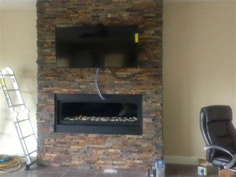 Fireplace Tile Installation by Ceramic Creations Gallery