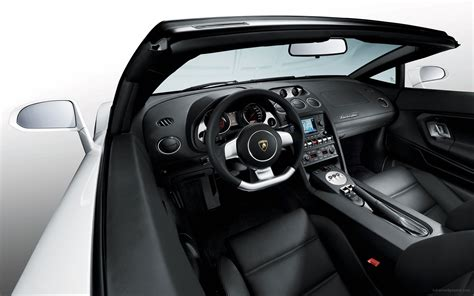 lamborghini gallardo interior lamborghini gallardo spyder interior wallpaper hd car