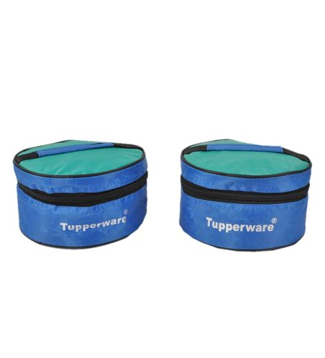 Tupperware Insulated Serving Set buy tupperware classic blue plastic 2pc lunch box with bag