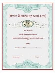 doctorate certificate template sle certificate template 21 free word pdf documents