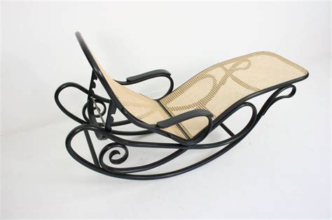 chaise longue rocking chair gebruder thonet rocking chaise longue model number 7500