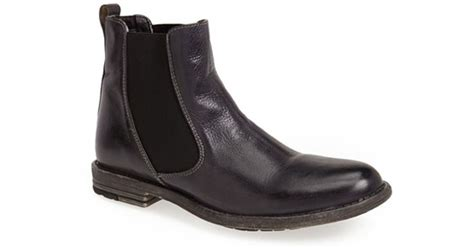 bed stu boots mens bed stu tribute chelsea boot in black for men lyst
