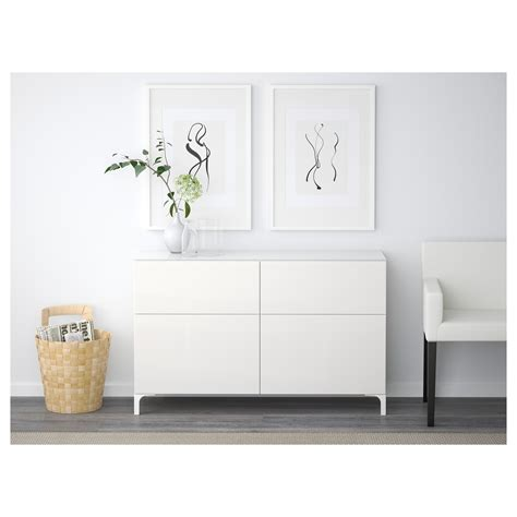 besta drawers best 197 storage combination with drawers white selsviken