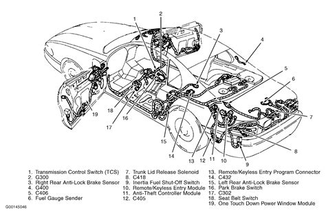 anti theft wiring diagram 1998 ford mustang wiring