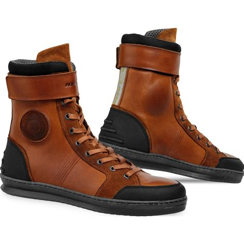 brown moto boots rev it fairfax motorcycle leather boots motorbike bike