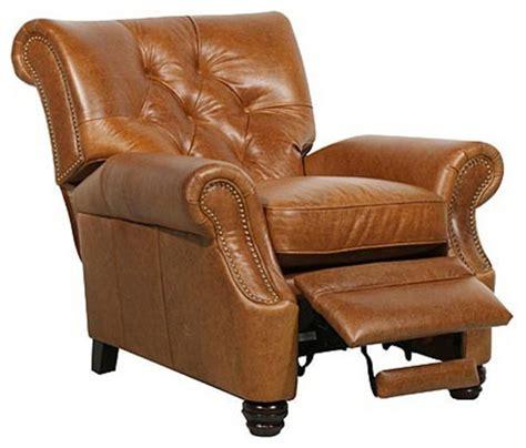 houzz recliners barcalounger ii leather recliner modern