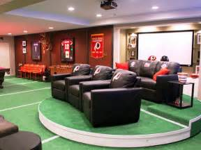 nfl themed cave ideas sports cave ideas