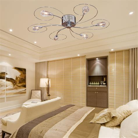 Unique Bright Chandelier Ceiling Fan For Ceiling Bedroom Fan Light