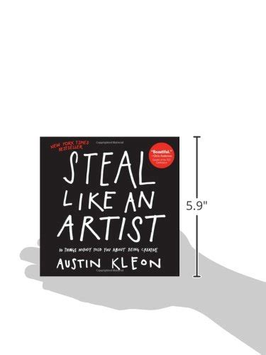 libro steal like an artist 10 things nobody told you about being creative di austin kleon