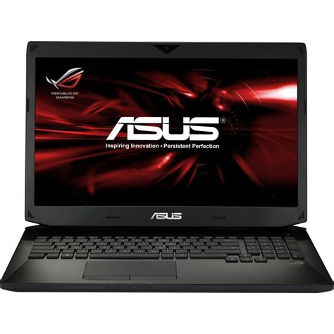 Asus Laptop With Intel asus g750jx 17 3 quot intel i7 4700hq processor 8gb ram 1tb hdd gaming laptop asus