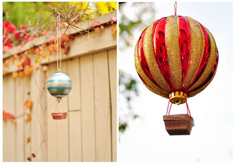 Handmade Air Balloon Decorations - the cheese thief how to make air balloon ornament