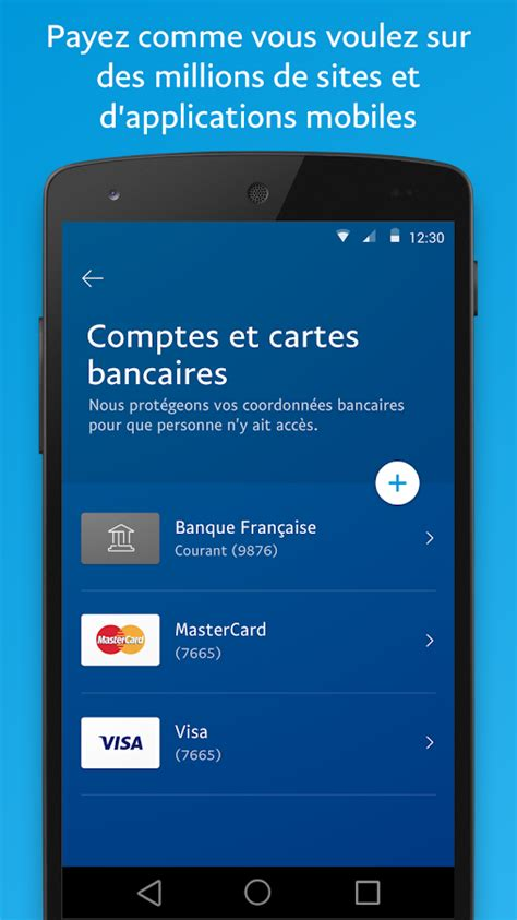 paypal mobile application paypal applications android sur play
