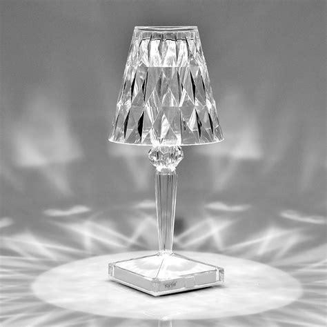 kartell illuminazione catalogo lada da tavolo battery cristallo kartell cristallo