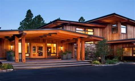 modern rustic home with casita modern exterior rustic craftsman style homes modern craftsman style home
