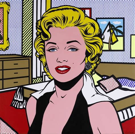 pop andy warhol roy lichtenstein portraits of marilyn the genealogy of style