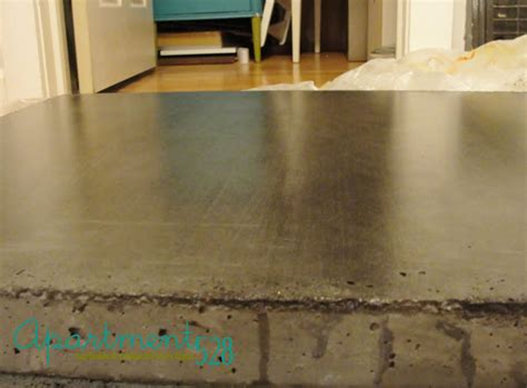 What Sealer To Use On Concrete Countertops by Apartment 528 The Ultimate Weekender Diy Concrete