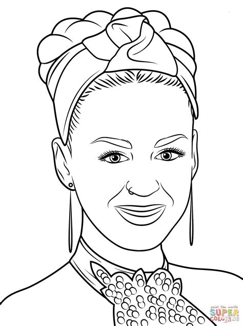 katy perry coloring page free printable coloring pages
