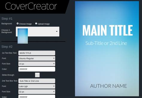 design with cover creator 5 online e book cover creators to design e book cover by
