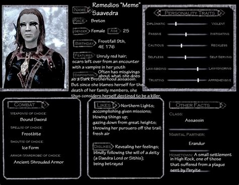skyrim character templates skyrim character template meme by norroendyrd on deviantart