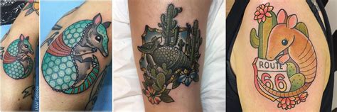 texas themed tattoos 10 armored armadillo tattoos stacie mayer