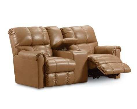 double recliner with console griffin double reclining console loveseat with storage