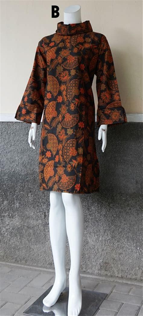 jual tunik batik dress batik blouse batik jumbo jb
