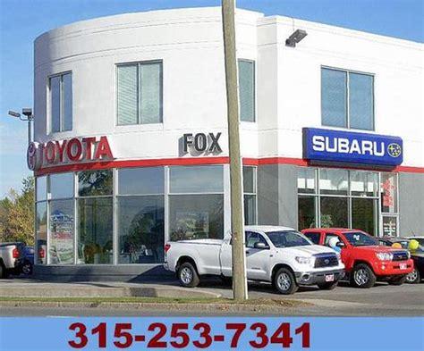 auburn subaru dealership fox toyota scion subaru auburn ny 13021 car dealership