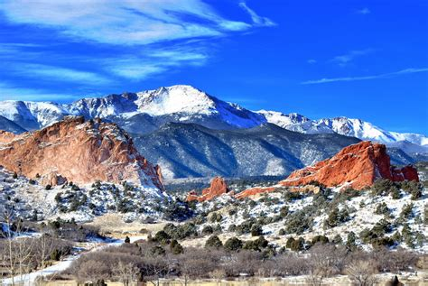 Garden Of The Gods Winter by Winter At The Garden Of The Gods By Jawahunter003 On
