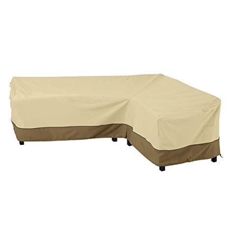 L Shaped Patio Furniture Cover Classic Accessories 55 880 011501 Rt Veranda Patio L Shaped Sectional Sofa Cover Right Facing