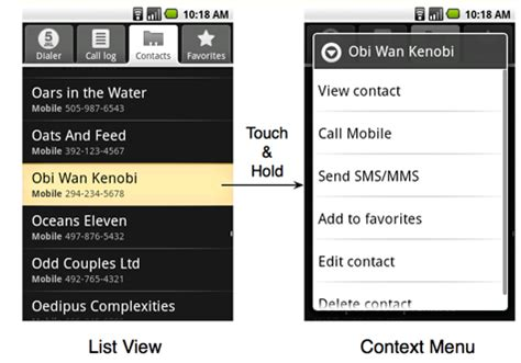menu layout rules android menu design guidelines