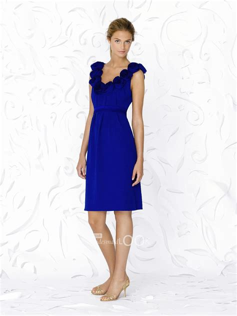 Royal Blue Bridesmaid Dress by Royal Blue Bridesmaid Dresses Going Great With White