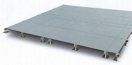 raised basement floor systems thk 5050 raised access floor system with truck access