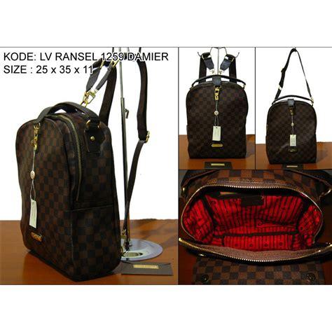 Ransel Fashion Lv Sz 24x10x32 ransel import ransel wanita ransel lv lm tas import backpack fashion wanita ransel batam grosir