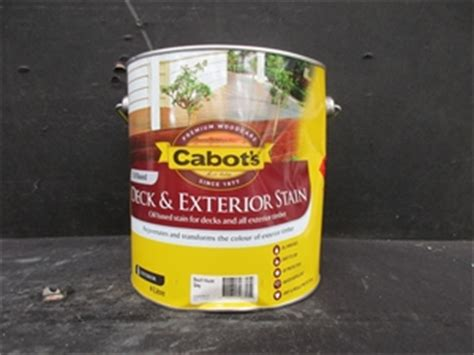 cabots deck exterior stain oil based  litres beach