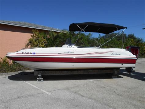 used hurricane boats for sale in maryland used deck boat hurricane boats for sale 3 boats