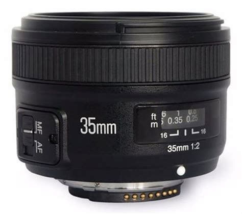 Yongnuo 35mm F2 yongnuo s 35mm f 2 clone arrives in nikon mount form