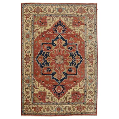 9 x 11 rug size 9 11 quot x 13 09 quot heriz wool rug from india
