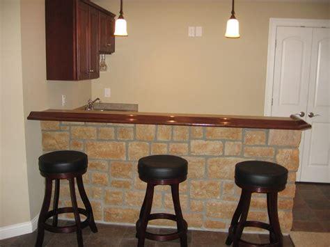 - Simple Basement Bar