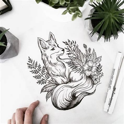 fox tattoo design best 25 fox design ideas on fox design