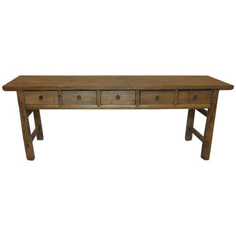 rustic sofa tables for sale rustic console table for sale at 1stdibs