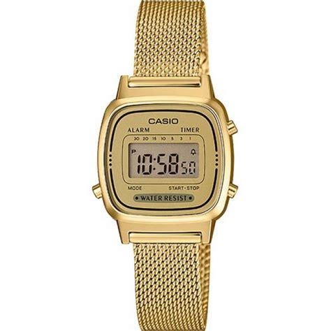 casio orologi donna orologio casio la670wemy 9ef orologio acciaio oro donna