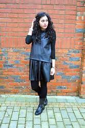 Dress Black Iffa iffa a n a houndstooth print scarf topshop